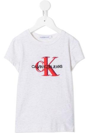 Calvin Klein Embroidered monogram T-shirt
