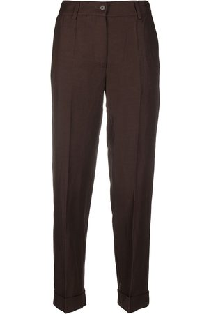 P.a.r.o.s.h. Damen Stoffhosen - Slim-fit tailored trousers