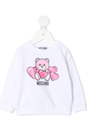 Moschino Shirts - Bear-motif crew-neck sweatshirt