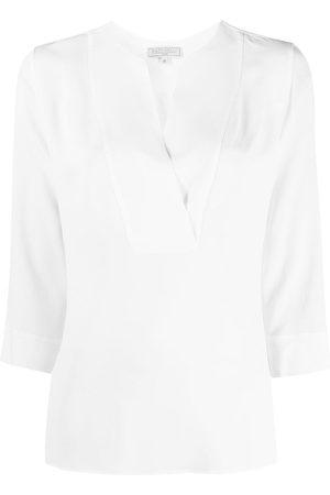 ANTONELLI Crepe-chiffon blouse