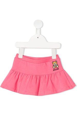 Moschino Baby Röcke - Embroidered-teddy skirt