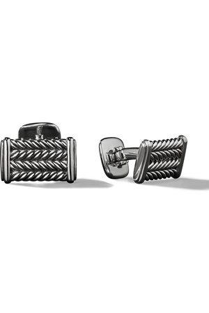 David Yurman Chevron cufflinks