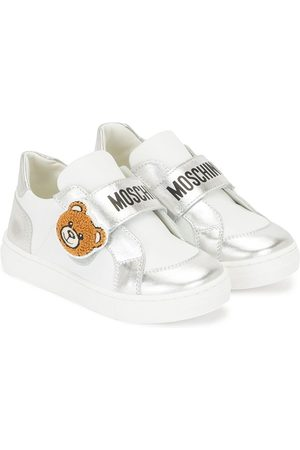 Moschino Teddy Bear patch low-top sneakers