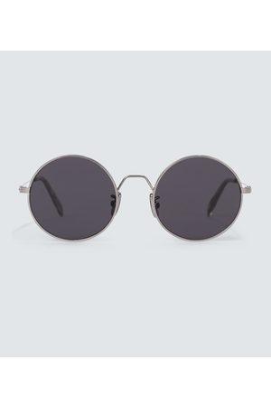 Celine Eyewear Runde Sonnenbrille aus Metall