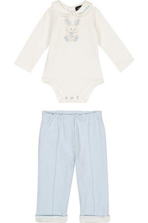 Monnalisa Baby Set aus Body und Hose