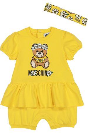Moschino Baby Set aus Body und Stirnband