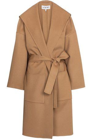 Loewe Mantel aus Wolle und Kaschmir