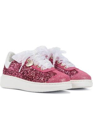 MONNALISA Sneakers mit Glitter