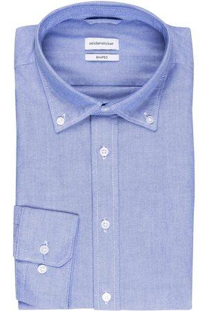 Seidensticker Hemd Shaped Fit blau