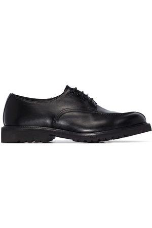 TRICKERS Herren Halbschuhe - Kilsby Apron Olivvia leather Derby shoes