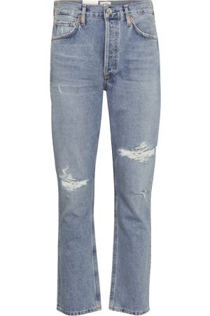 Citizens of Humanity Damen Straight - High-Rise Straight Jeans Charlotte