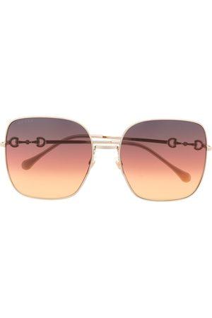 Gucci Damen Sonnenbrillen - Square-frame oversized sunglasses