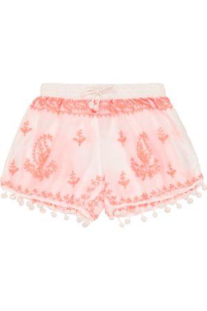 Melissa Odabash Kids Baby Bestickte Shorts Sienna
