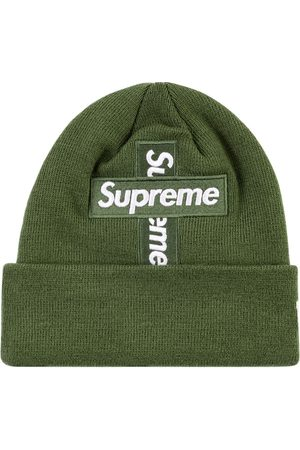 "Supreme Hüte - New Era cross box-logo beanie ""FW 20"""