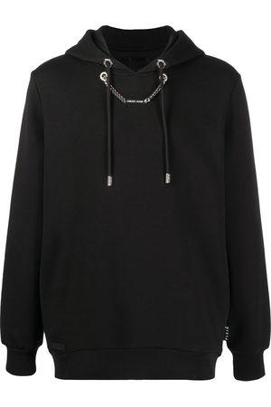 Philipp Plein Herren Sweatshirts - Chain-detail hooded sweatshirt