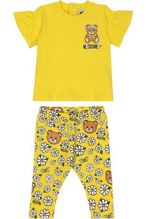 Moschino Baby Set aus T-Shirt und Leggings