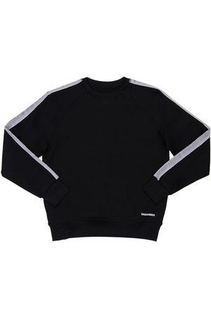 Dsquared2 Sweatshirt Aus Baumwollmischung