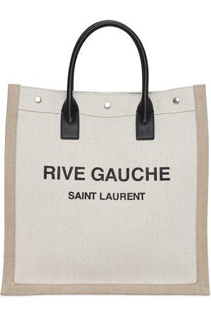 "Saint Laurent Tote Aus Canvas Mit Logodruck ""noe"""