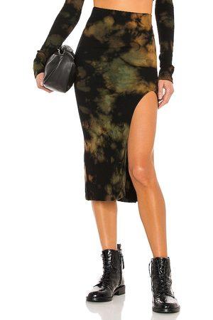 Cotton Citizen X REVOLVE Melbourne Midi Skirt in - Black. Size L (also in M, S, XS).