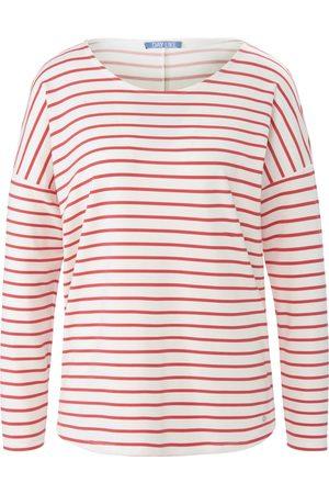 DAY.LIKE Damen Shirts - Rundhals-Shirt weiss