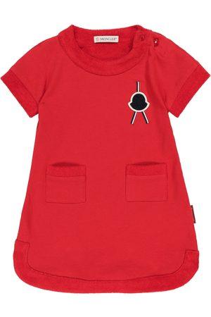 Moncler Baby Kleider - Baby Kleid aus Baumwolle