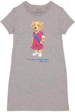 Ralph Lauren Mädchen Poloshirts - Kleid Polo Bear aus Baumwolle