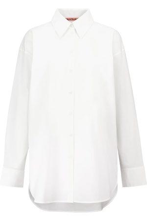 Acne Studios Damen Blusen - Hemd aus Baumwollpopeline