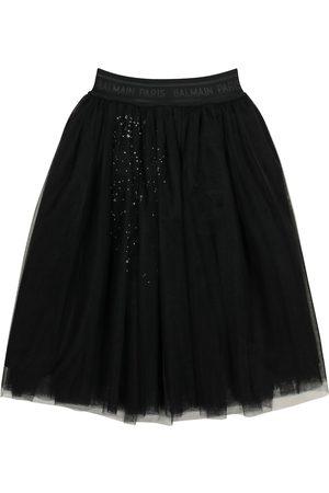 Balmain Kids Mädchen Röcke - Verzierter Tüllrock