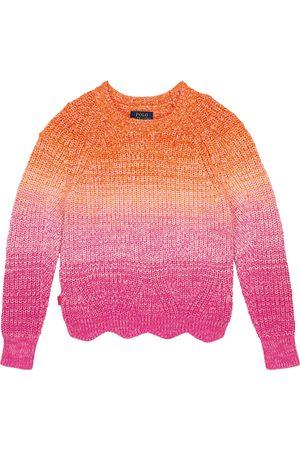 Ralph Lauren Damen Strickpullover - Pullover aus Baumwolle