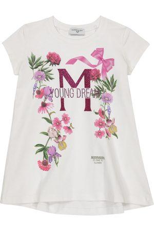 MONNALISA Verziertes T-Shirt aus Jersey