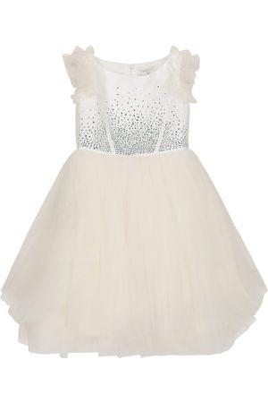 MONNALISA Mädchen Kleider - Verziertes Tüllkleid