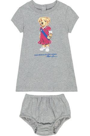 Ralph Lauren Baby Set aus Kleid und Höschen