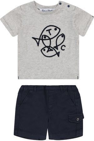 Tartine Et Chocolat Baby Set aus T-Shirt und Shorts