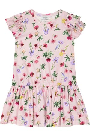 MONNALISA Bedrucktes Kleid aus Jersey
