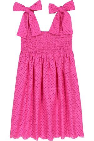 Marysia Kleid Smocked aus Baumwolle