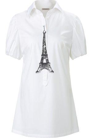 Uta Raasch Damen Blusen - Bluse in ausgestellter Form weiss