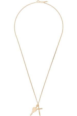 EMANUELE BICOCCHI Cross pendant chain necklace