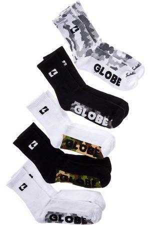 Globe Malcom Crew 7-11 5Pk Socks