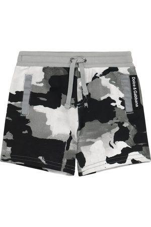 Dolce & Gabbana Baby Shorts aus Baumwoll-Jersey