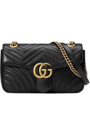 Gucci Damen Umhängetaschen - GG Marmont small matelassé leather shoulder bag