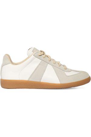 "Maison Margiela 20mm Sneakers Aus Leder & Wildleder ""replica"""