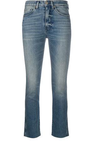 3x1 Damen Skinny - Stonewashed skinny jeans