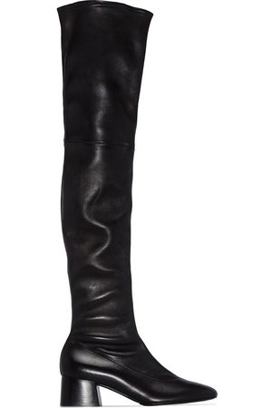 Khaite Sedona over-the-knee leather boots