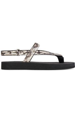 Giuseppe Zanotti Damen Flip Flops - Hydra leather flip flops