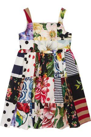 Dolce & Gabbana Partykleid Aus Baumwolle