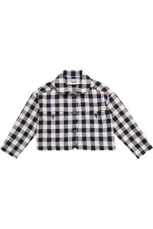 Il Gufo Jacke aus einem Baumwollgemisch