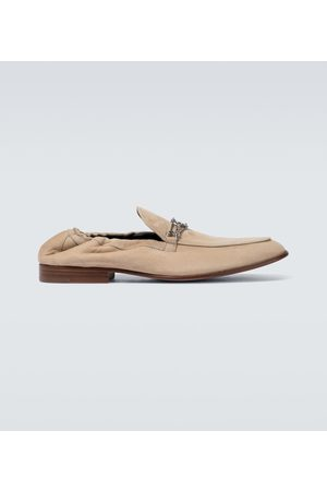Lanvin Loafers aus Veloursleder