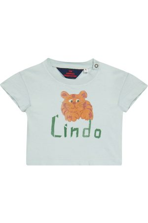 The Animals Observatory Shirts - Baby T-Shirt Rooster aus Baumwolle