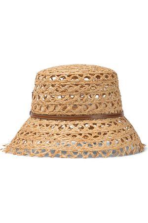Prada Damen Hüte - Hut aus Raffiabast