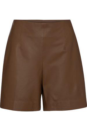 Vince Damen Shorts - Shorts aus Leder